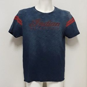 Lucky Brand Mens LG Indian Motorcycle Shirt